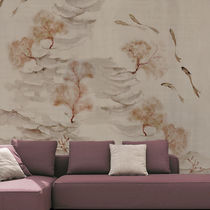 Original design wallpaper / cotton / nature pattern / chinoiserie