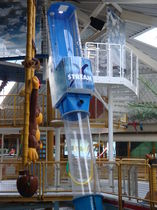 Upright slide / for water parks / high-speed