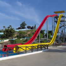 Curved slide / for water parks / high-speed