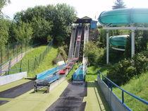 Upright slide / for water parks / multiple