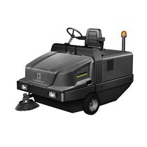 Ride-on sweeping machine