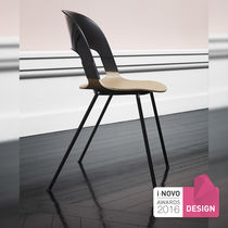 Visitor chair / contemporary / plastic / commercial