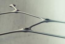 Pendant lamp / contemporary / metal / carbon fiber
