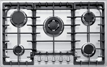 Gas cooktop / with grill / cast iron