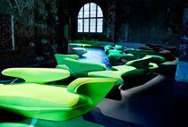 Original design sofa / fabric / by Zaha Hadid / white