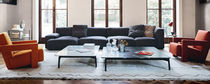 Corner sofa / modular / contemporary / fabric
