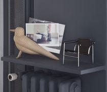 Magazine shelf / contemporary / wooden