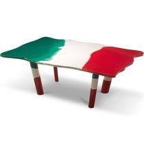 Contemporary table / resin / rectangular / by Gaetano Pesce