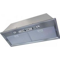 Wall-mounted range hood / with built-in lighting