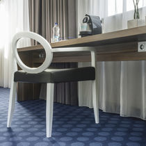 Tufted carpet / polyamide / for hotel rooms / printed