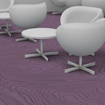 Tufted carpet / structured / polyamide / commercial