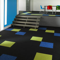 Carpet tile / loop pile / polyamide / commercial