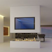 Bioethanol fireplace / contemporary / original design / traditional