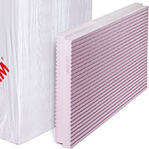 Thermal insulation / extruded polystyrene / exterior / rigid panel