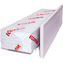 Thermal insulation / extruded polystyrene / foundation / rigid panel