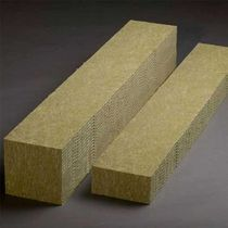 Thermal-acoustic insulation / stone wool / interior / rigid panel