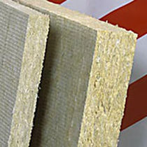 Thermal insulation / stone wool / rigid panel / high-resistance