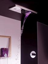 Recessed ceiling shower head / rectangular