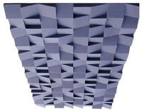 Foam acoustic panel / for false ceilings / design