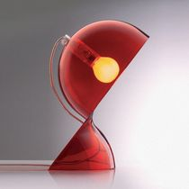 Table lamp / original design / thermoplastic / halogen