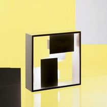 Table lamp / original design / metal / halogen