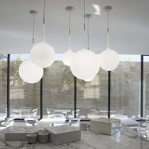 Pendant lamp / contemporary / resin / thermoplastic