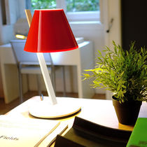 Table lamp / contemporary / plastic / aluminum