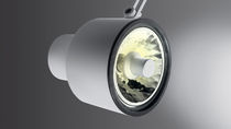 Recessed spotlight / indoor / fluorescent / halogen