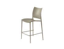 Bar chair / contemporary / stackable / polypropylene