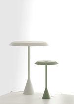 Table lamp / original design / aluminum / polycarbonate