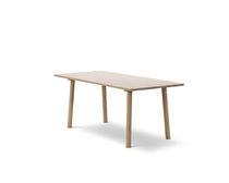 Contemporary dining table / oak / rectangular / by Jasper Morrison