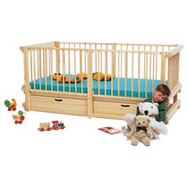 Single bed / contemporary / child's unisex / wooden
