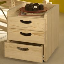 Wooden office unit / 3-drawer