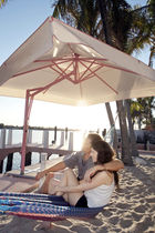 Offset patio umbrella / for bars / for public pools / for hotels
