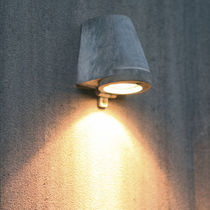 Contemporary wall light / garden / metal
