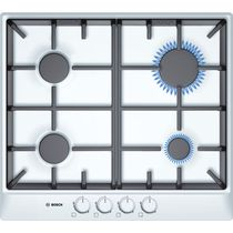Gas cooktop / cast iron / with grill