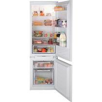Residential refrigerator-freezer / double door / white / built-in