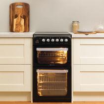 Vitroceramic range cooker / recessed