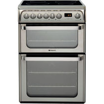 Electric range cooker / stainless steel / ceramic
