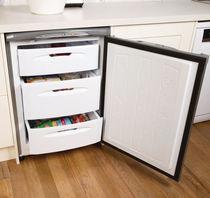 Undercounter freezer / gray / energy-saving / built-in