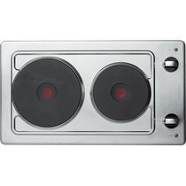 Electric cooktop / stainless steel