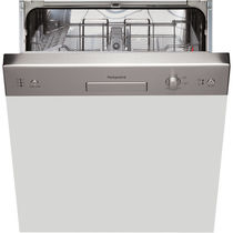 Front-loading dishwasher / built-in / energy-efficient / drying