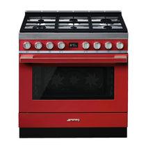 Gas range cooker