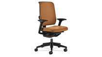 Office chair / contemporary / adjustable / swivel