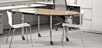 Boardroom table / contemporary / wood veneer / laminate