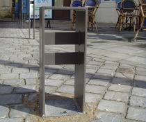 Security bollard / stainless steel