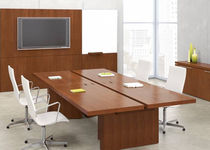 Boardroom table / contemporary / laminate / rectangular