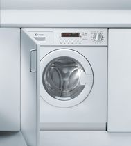 Front-loading washing machine / built-in / EU Energy label