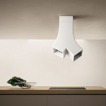 Island extractor hood / original design / with built-in lighting