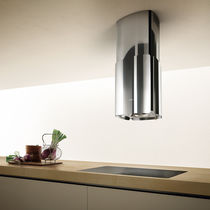 Island range hood / original design / low-noise